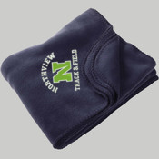 N - M999 Harriton - Fleece Blanket