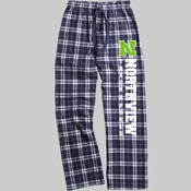 N - boxercraft F20 Team Pride Flannel Pant with Taping